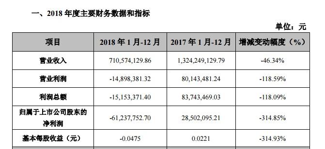 莱茵体育2018 年度业绩快报(挖贝网wabei.cn配图).jpg