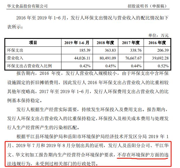 华文食品 环保 招股书.png